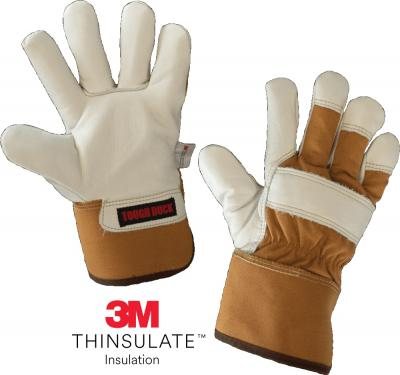 Tough Duck - Waterproof Breathable Grain Leather Gloves