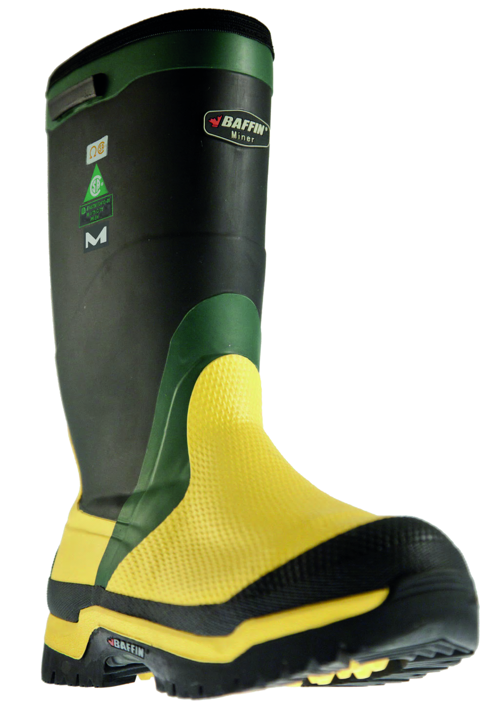 BAFFIN MINER BOOT ,SAFETY CSA INTERNAL METATARSAL GUARD