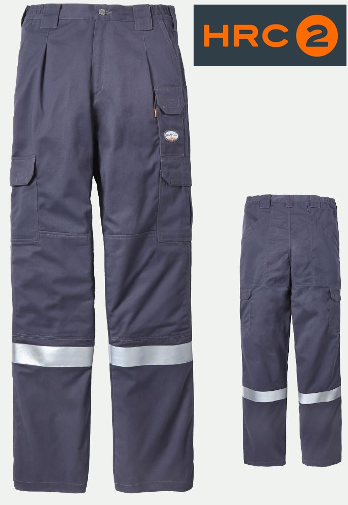 49bae417294a rasco fire retardant cotton twill safety cargo field pant fr4403