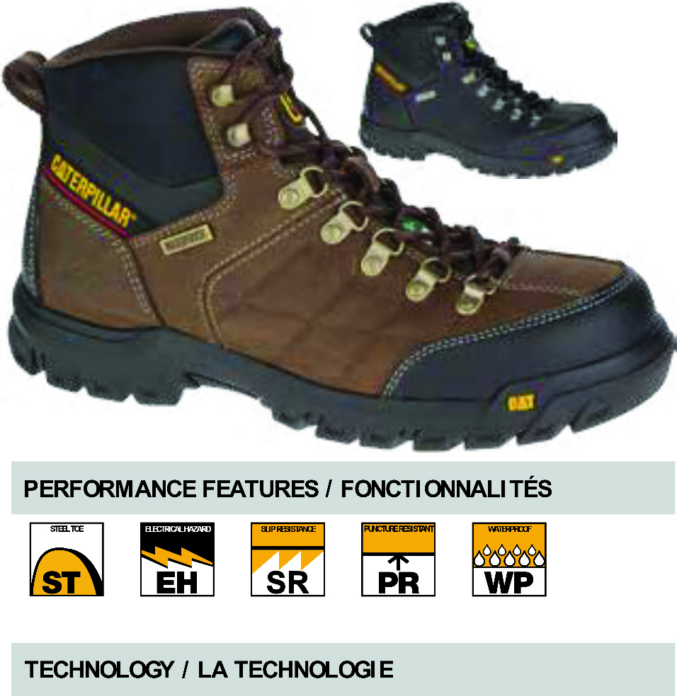 Cat Threshold Waterproof Steel Toe Csa Work Boots