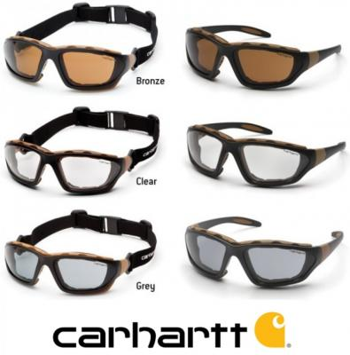 712d479fe5d CARHARTT - Carthage Safety Glasses with Anti Fog Lenses CHB4TPCS