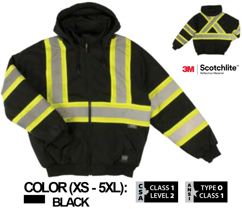ca50e1ce5 WORK KING SAFETY INSULATED SAFETY HOODIE S474