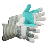 Split Leather Double Palm Fitters Glove