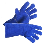 Blue Split Lined Welding Glove