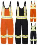 TERRA HIGH-VISIBILITY CANVAS LINED OVERALL 116569