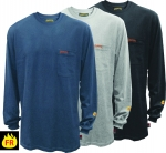 PIONEER PROTECTIVE - Flame Resistant FR / HRC Long-Sleeved Cotton Shirt