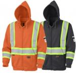 f2c4bedcb92 PIONEER PROTECTIVE - Flame Resistant FR   HRC Zip Style Heavyweight Cotton Safety  Hoodie
