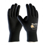 MaxiFlex® Endurance™  Seamless Knit Nylon / Lycra Glove with Nitrile Coated Micro-Foam Grip on Full Hand - Micro Dot Palm
