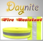 Fire Retardant YSY Reflective Safety Sew On Tape