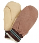 Ganka - Split / Cowgrain Pile Lined Winter Mitt