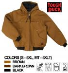 TOUGH DUCK -HOODED WINTER BOMBER