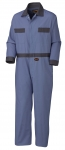PIONEER PROTECTIVE - COTTON COVERALL WITH BUTTONS