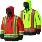 PIONEER - Waterproof/Breathable Premium Hi-Viz SAFETY Jacket
