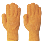 SEAMLESS KNIT CRISS-CROSS GRIPPER NYLON GLOVES 12/PACK