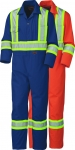 PIONEER PROTECTIVE - SAFETY POLY/COTTON COVERALL