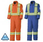 PIONEER PROTECTIVE - Flame Resistant FR / HRC QUILTED COTTON SAFETY COVERALL