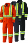 PIONEER PROTECTIVE - Quilted Cotton SAFETY Duck Coverall