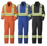 PIONEER PROTECTIVE - Flame Resistant FR / HRC COTTON SAFETY COVERALL