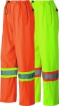 PIONEER PROTECTIVE - Hi-Viz 150D Lightweight Waterproof Safety Pant