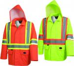 PIONEER 300D Oxford Hi Vis Jacket