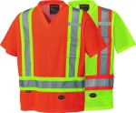 PIONEER PROTECTIVE - HI-VIZ SAFETY TRAFFIC Mesh  T-SHIRT