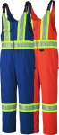 PIONEER PROTECTIVE - SAFETY POLY/COTTON OVERALL