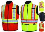 PIONEER Hi-Viz Reversible Insulated Safety Vest