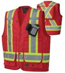 PIONEER PROTECTIVE - CSA 600 DENIER SURVEYOR'S SAFETY VEST