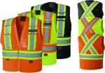 PIONEER PROTECTIVE - HI-VIZ SAFETY TEAR-AWAY VEST