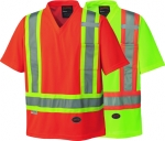 PIONEER PROTECTIVE - HI-VIZ SAFETY TRAFFIC MICRO MESH T-SHIRT