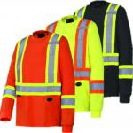 PIONEER PROTECTIVE - COTTON LONG-SLEEVED SAFETY SHIRT