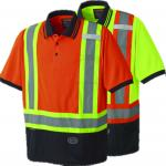 PIONEER PROTECTIVE - BIRDSEYE SAFETY POLO SHIRT