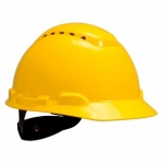 3M - TYPE 1 VENTED HARD HAT HAT - RATCHET SUSPENSION