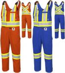 PIONEER FR-Tech™ Flame Resistant 7 oz Hi-Viz Safety Overall