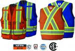 PIONEER - Flame Resistant 7 oz Hi-Viz Surveyor's Vests