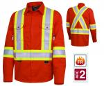 PIONEER  FR-Tech® Flame Resistant 7 oz Hi-Viz Safety Shirt  7743