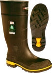BAFFIN MAXIMUM MEN'S STEEL TOE AND PLATE RUBBER WORK BOOTS