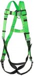 PEAKWORKS - CONTRACTOR HARNESS - 1D - CLASS A - PASS-THRU CHEST BUCKLE - GROMMETTED LEG STRAPS