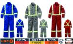 RASCO FIRE RETARDANT 88/12 SAFETY UNLINED COVERALL  FR3305