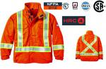 RASCO FIRE RETARDANT 88/12 SAFETY LINED BOMBER JACKET