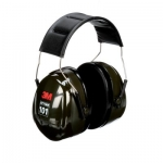 3M™ Peltor™ Optime 101 Over-the-Head Earmuffs, H7A, black