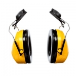 3M™ Peltor™ Optime 98 Cap-Mount Earmuffs, H9P3E, black/yellow