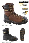 "CAT - HAULER 8"" WATERPROOF CT CSA (COMP TOE) SAFETY BOOTS"
