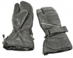 Leather Snowmobile / Cold Weather Motorcycle 1 Finger Mittens