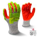 RADIANS RWG603 CUT PROTECTION LEVEL A5 IMPACT  SANDY FOAM NITRILE COATED GLOVE