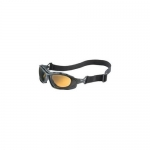 Uvex  Seismic Safety Eyewear, Black Frame, Espresso Uvextra Anti-Fog Lens/Headband