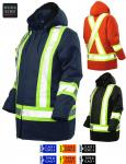 WORK KING - COTTON DUCK SAFETY PARKA S157