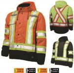 WORK KING WATERPROOF/BREATHABLE MIDWEIGHT SAFETY FLEECE LINED JACKET S245