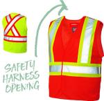 BIG VIS - 5 POINT TEAR AWAY SAFETY VEST