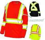 HI VIS - LONG SLEEVE T-SHIRT